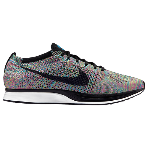 Nike Flyknit Racer Men's Green Strike/Black/Blue Lagoon/Pink Pow 26628304