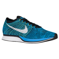 Nike Flyknit Racer - Men's - Light Blue / White