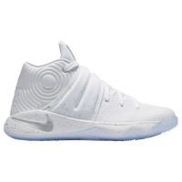hot sales e6279 d1d1e Nike Kyrie 2 - Boys  Grade School - Kyrie Irving - White   Silver