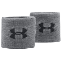"Under Armour 3"" Performance Wristbands - Grey / Black"