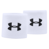 "Under Armour 3"" Performance Wristbands - White / Black"