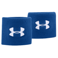 "Under Armour 3"" Performance Wristbands - Blue / White"
