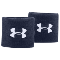 "Under Armour 3"" Performance Wristbands - Navy / White"