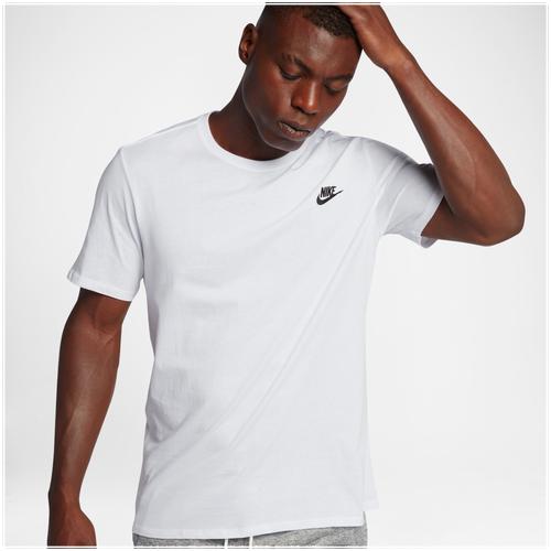 Nike Core Embroidered Futura T-Shirt - Men s - Casual - Clothing -  White White Black ef32db9c34