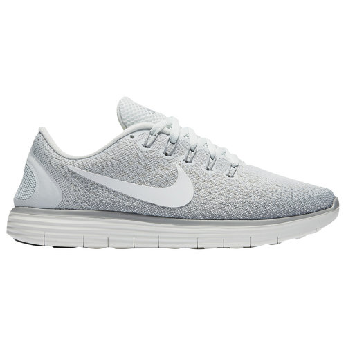 44633843919 Nike Free RN Distance Womens Running Shoes Off White Summit White Light  Bone Matte Silver