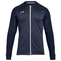 Under Armour Team Qualifier Hybrid Warm-Up Jacket - Men's - Navy