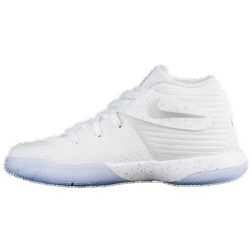 129068d439e Nike Kyrie 2 Boys Preschool Basketball Shoes Kyrie Irving White Metallic  Silver Tour Yellow