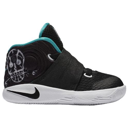 Nike Kyrie 2 - Boys' Toddler - Basketball - Shoes - Kyrie Irving - Black/ Black/Hyper Jade/White