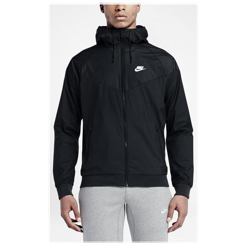 Nike Windrunner Jacket Mens Black/Black/Black/White
