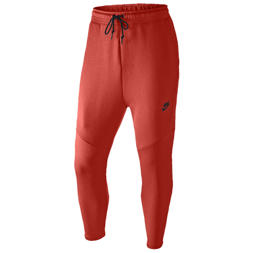 Nike Tech Cropped Pants - Men's Casual - Light Crimson/Black 27355696