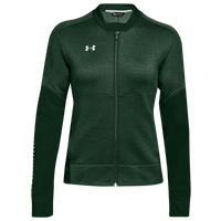 Under Armour Team Qualifier Hybrid Warm-Up Jacket - Women's - Green