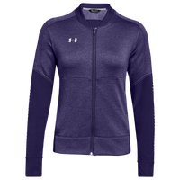 Under Armour Team Qualifier Hybrid Warm-Up Jacket - Women's - Purple