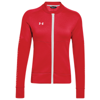 Under Armour Team Qualifier Hybrid Warm-Up Jacket - Women's - Red