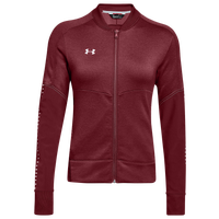 Under Armour Team Qualifier Hybrid Warm-Up Jacket - Women's - Cardinal