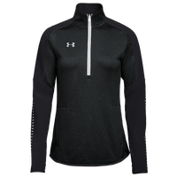 Under Armour Team Qualifier Hybrid 1/2 Zip - Women's - Black