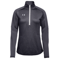 Under Armour Team Qualifier Hybrid 1/2 Zip - Women's - Grey