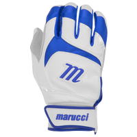Marucci Signature Batting Gloves - Men's - White / Blue