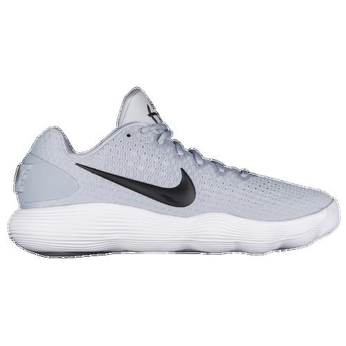 Nike React Hyperdunk 2017 Low - Men's - Basketball - Shoes - Wolf  Grey/Black/White