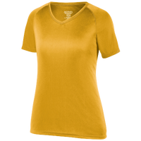 Augusta Sportswear Team Attain Wicking T-Shirt - Women's - Gold / Gold