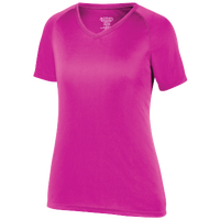 Augusta Sportswear Team Attain Wicking T-Shirt - Women's - Pink / Pink