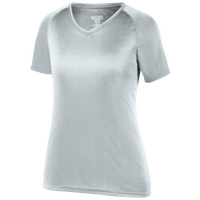Augusta Sportswear Team Attain Wicking T-Shirt - Women's - Silver / Silver
