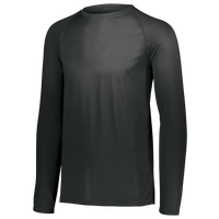 Augusta Sportswear Team Attain Wicking Long Sleeve T-shirt - Men's - All Black / Black