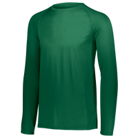 Augusta Sportswear Team Attain Wicking Long Sleeve T-shirt - Men's - Dark Green