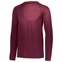 Augusta Sportswear Team Attain Wicking Long Sleeve T-shirt - Men's - Maroon