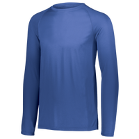 Augusta Sportswear Team Attain Wicking Long Sleeve T-shirt - Men's - Blue