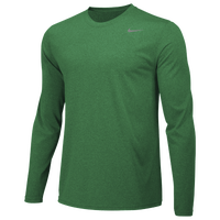 Nike Team Legend Long Sleeve Poly Top - Men's - Green / Green