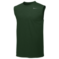 Nike Team Legend Sleeveless Poly Top - Men's - Dark Green / Dark Green