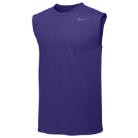 Nike Team Legend Sleeveless Poly Top - Men's - Purple / Purple