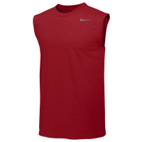 Nike Team Legend Sleeveless Poly Top - Men's - Red / Red
