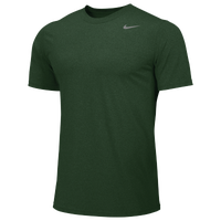 Nike Team Legend Short Sleeve Poly Top - Men's - Dark Green / Dark Green