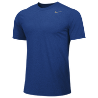 Nike Team Legend Short Sleeve Poly Top - Men's - Blue / Blue
