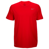 33e57929f78b Nike Team Legend Short Sleeve Poly Top - Men s - Red   Red