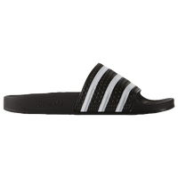 adidas Originals Originals Adilette Slide - Men's - Black / White