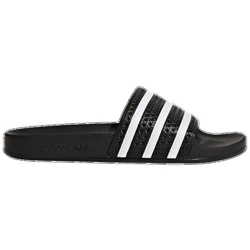 outlet for sale adidas Originals Adilette Men Casual Shoes Black White Black
