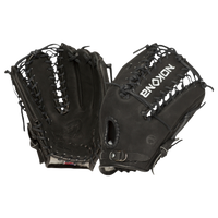 Nokona Supersoft Fielding Glove - Men's - Black / Black
