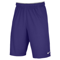 Nike Team Fly Shorts - Boys' Grade School - Purple / Purple