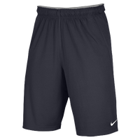 Nike Team Fly Shorts - Men's - Grey / Grey