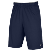 Nike Team Fly Shorts - Men's - Navy / Navy