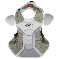 Rawlings Velo Chest Protector - White / Silver