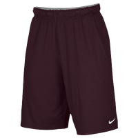Nike Team 2 Pocket Fly Shorts - Men's - Maroon / Maroon