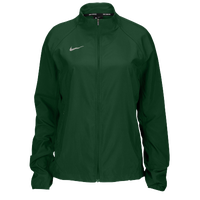 Nike Team Woven Running Jacket - Women's - Dark Green / Dark Green