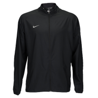Nike Team Woven Running Jacket - Men's - All Black / Black