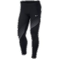 86684b05cda85 Nike Dri-FIT Power Run Tights - Men's - Black / Grey