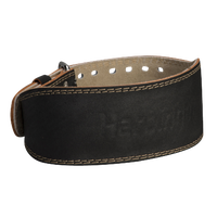 "Harbinger 4"" Padded Leather Belt - Men's - Black / Tan"