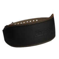 "Harbinger 6"" Padded Leather Belt - Men's - Black / Tan"