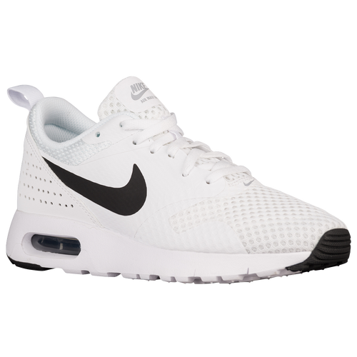hot sale online bfd31 30679 ... sweden nike air max tavas boys grade school casual shoes white black  white d54d4 61c8d